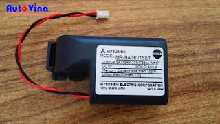 Đại lý bán Pin Servo Mitsubishi MR-BAT6V1SET 6V, Battery PLC Servo Mitsubishi
