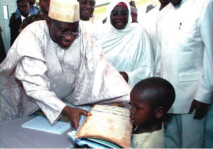 Goodluck-Jonathan-al-Majiri-schools-northern-nigeria