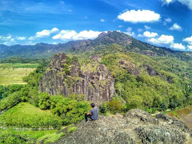 foto bukit sepikul sukoharjo