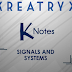Signal and System K notes