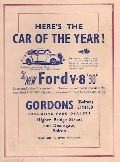 Gordons of Bolton - 1938 - Ford V-8