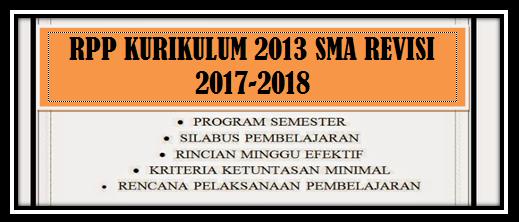 Download RPP PJOK SMA/SMK Kelas X, XI, XII Kurikulum 2013 Tahun 2018