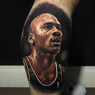 Баскетболист Майкл Джордан.