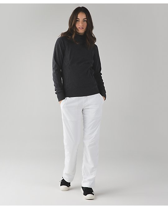 lululemon  white-studio-pant