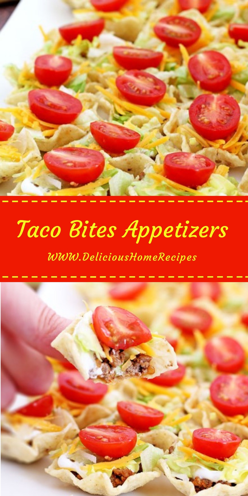 Taco Bites Appetizers