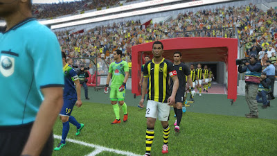 PES 2019 PS4 Option File Saudi Pro League Season 2018/2019 by TheViper12