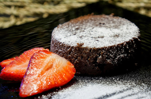 Desert Island Puddings #3: Fairtrade Chocolate Lava Cake (melt in the middle!)