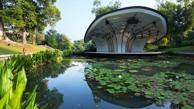 Visite des Botanic Gardens à Singapour