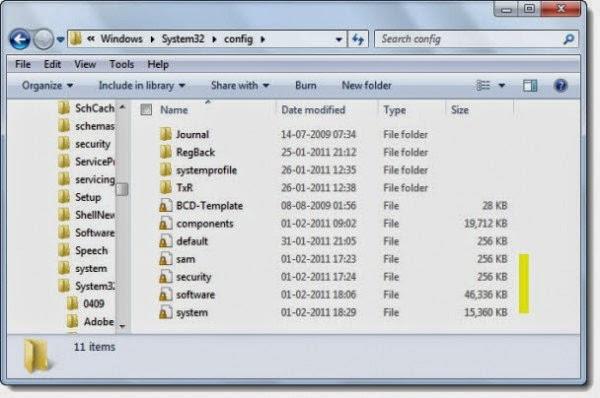 How to break the Windows 7 Administrator Password Using Windows