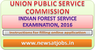 upsc+indian+forest+service+examination+2016+instruction+for+filling-up-online-application