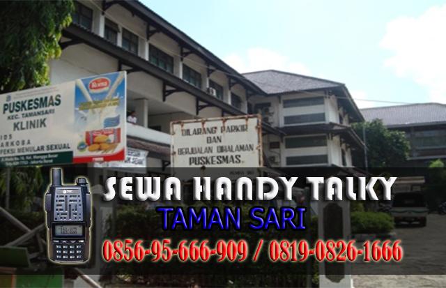 Pusat Sewa HT Taman Sari Pusat Rental Handy Talky Area Taman Sari