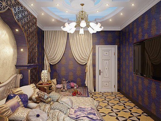 Moroccan decorating ideas - Moroccan decor - Moroccan furniture - decorating Moroccan style - Moroccan themed bedroom decorating ideas - Exotic theme decorating - Sultans Palace - harem style bedrooms Arabian nights Moroccan bedroom furniture - moroccan wall decoration ideas arabian nights bedroom