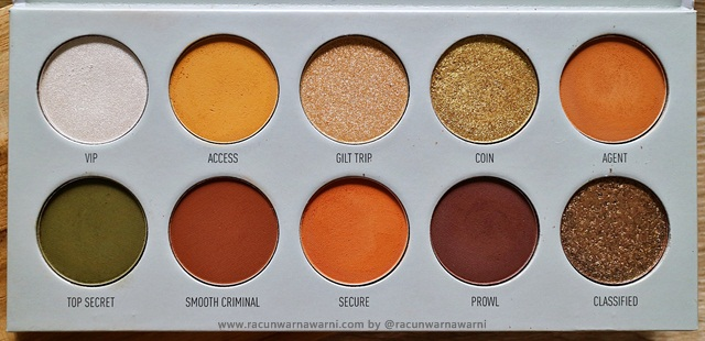 vault collection eyeshadow review