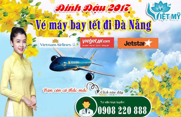 Giá vé máy bay tết đi Đà Nẵng của các hãng