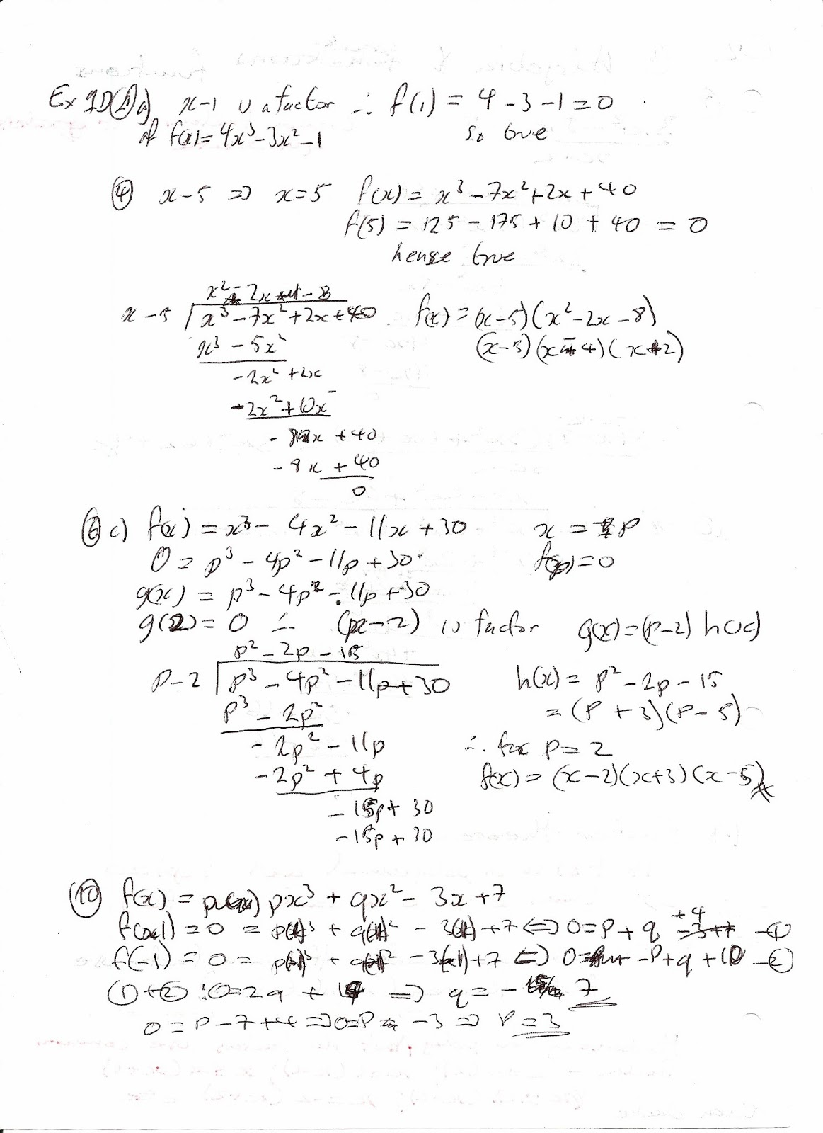 A Level Maths Notes Edexcel C2 1 Algebra And Functions