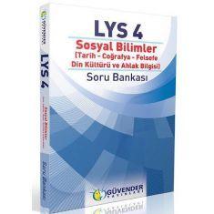 Güvender LYS-4 Sosyal Bilimler Soru Bankası