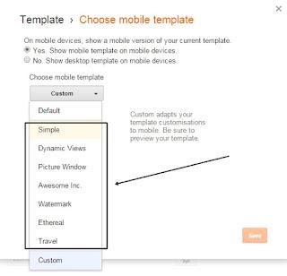 Menampilkan Iklan Adsense Versi Mobile didalam Konten - opsi pertama langka ke 2