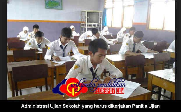 Download Administrasi Ujian Sekolah yang harus dikerjakan