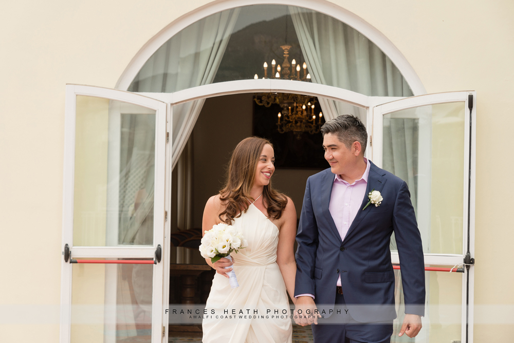 Positano town hall wedding