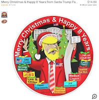 Trump paper plate