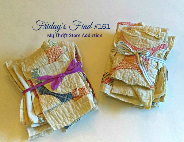Upcycled vintage quilt gifts