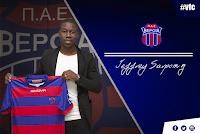 Την απόκτηση του Ολλανδού ποδοσφαιριστή Jeffrey Nana Darko Sarpong ανακοίνωσε η Βέροια