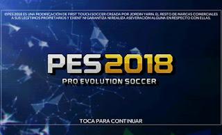 FTS Mod PES 2018 v3 by Jordin Yarin Apk + Data Obb