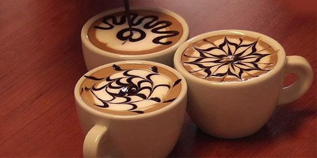 kahve süslemek için malzemeler neledir