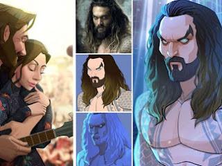 Artista transforma pessoas e personagens em lindos cartoons