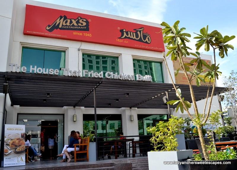 Max's restaurant in Karama