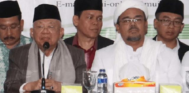 GNPF Tanggapi Positif Wacana Pertemuan Ma'ruf Amin dan HRS