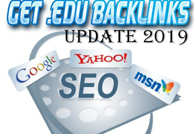 Daftar Backlink EDU Gratis Update 2019