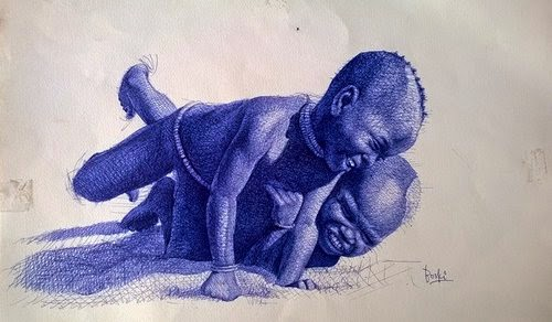 22-Life-Portrayed-by-a-Ballpoint-Pen-Enam Bosokah-www-designstack-co