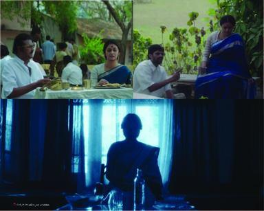 Keerthy Suresh in Mahanati in blue color