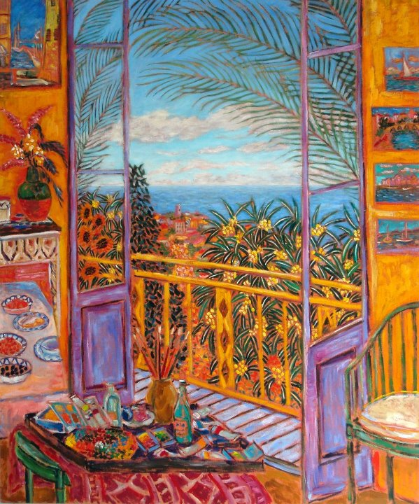 Bonnard's Dining Room - Le Cannet, 1943