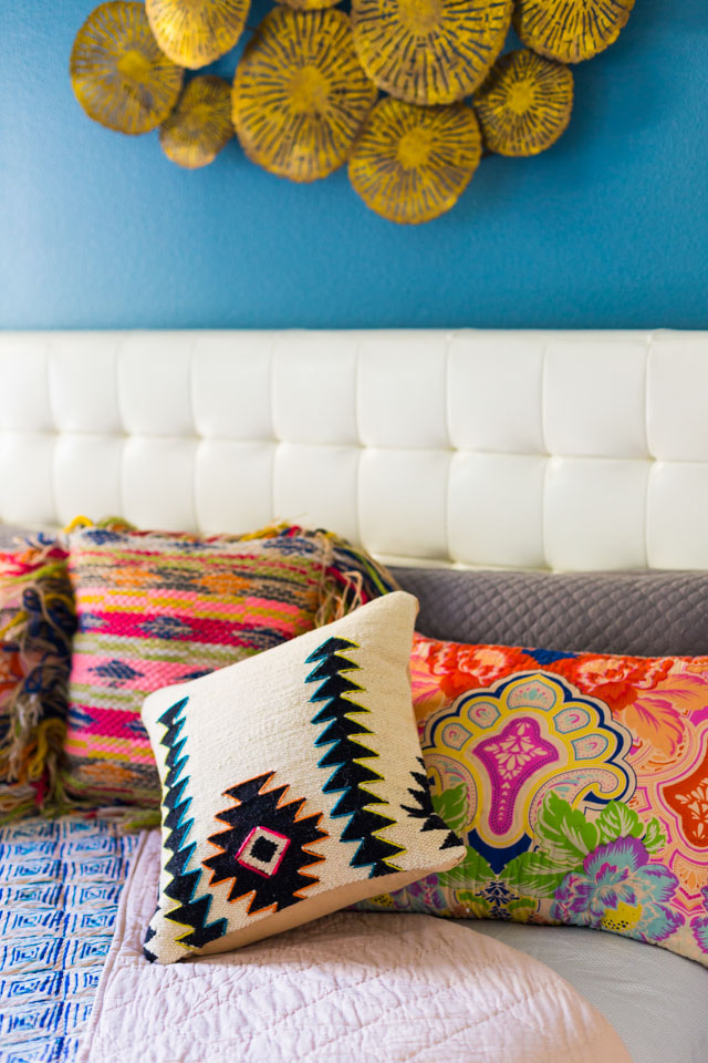 Love this eclectic mix of pillows from Home Decorators Collection!