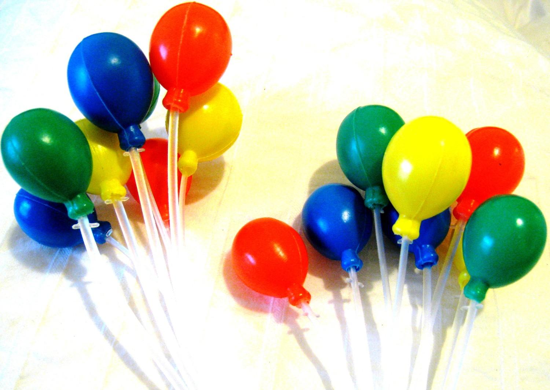 Balloon Cluster Cake Topper