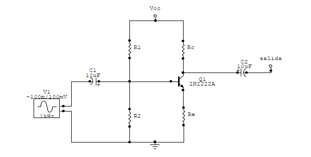 transistores: laboratorio