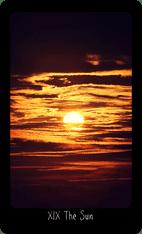 The Sun tarot card image