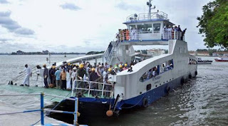 IWAI launches Ro-Ro service from Neamati to Manjuli Island