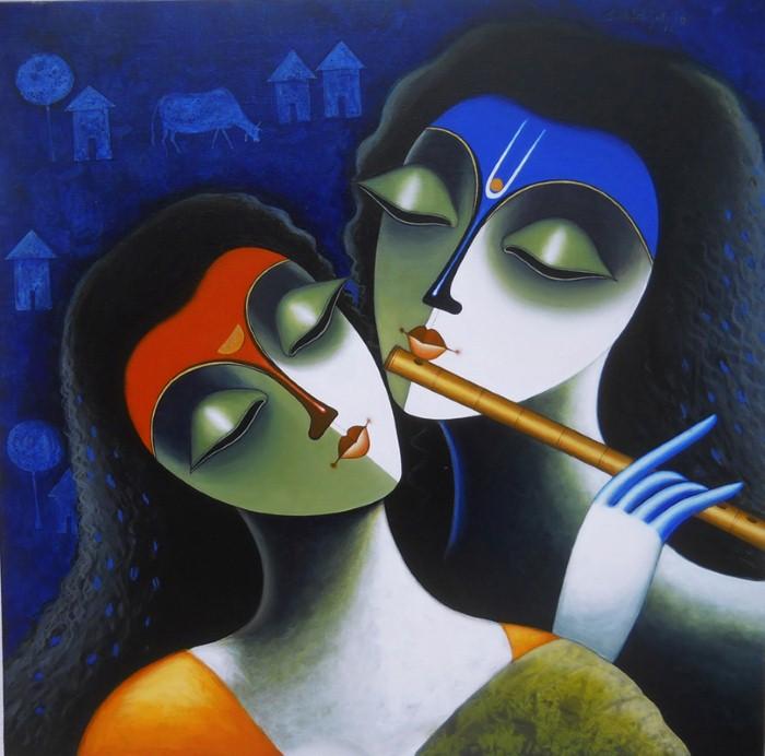 Индийский художник