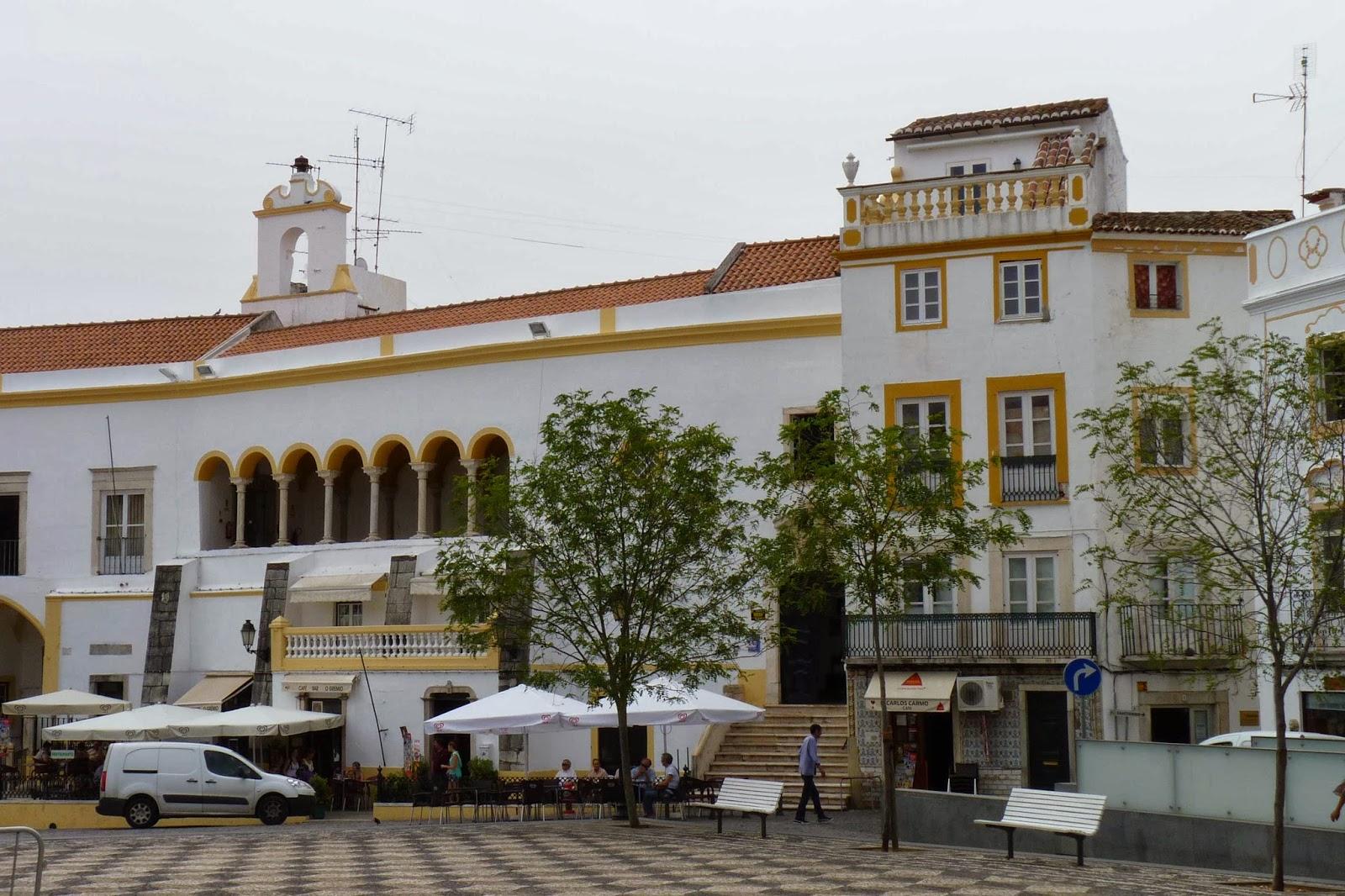 La Casa de la Cultura de Elvas.