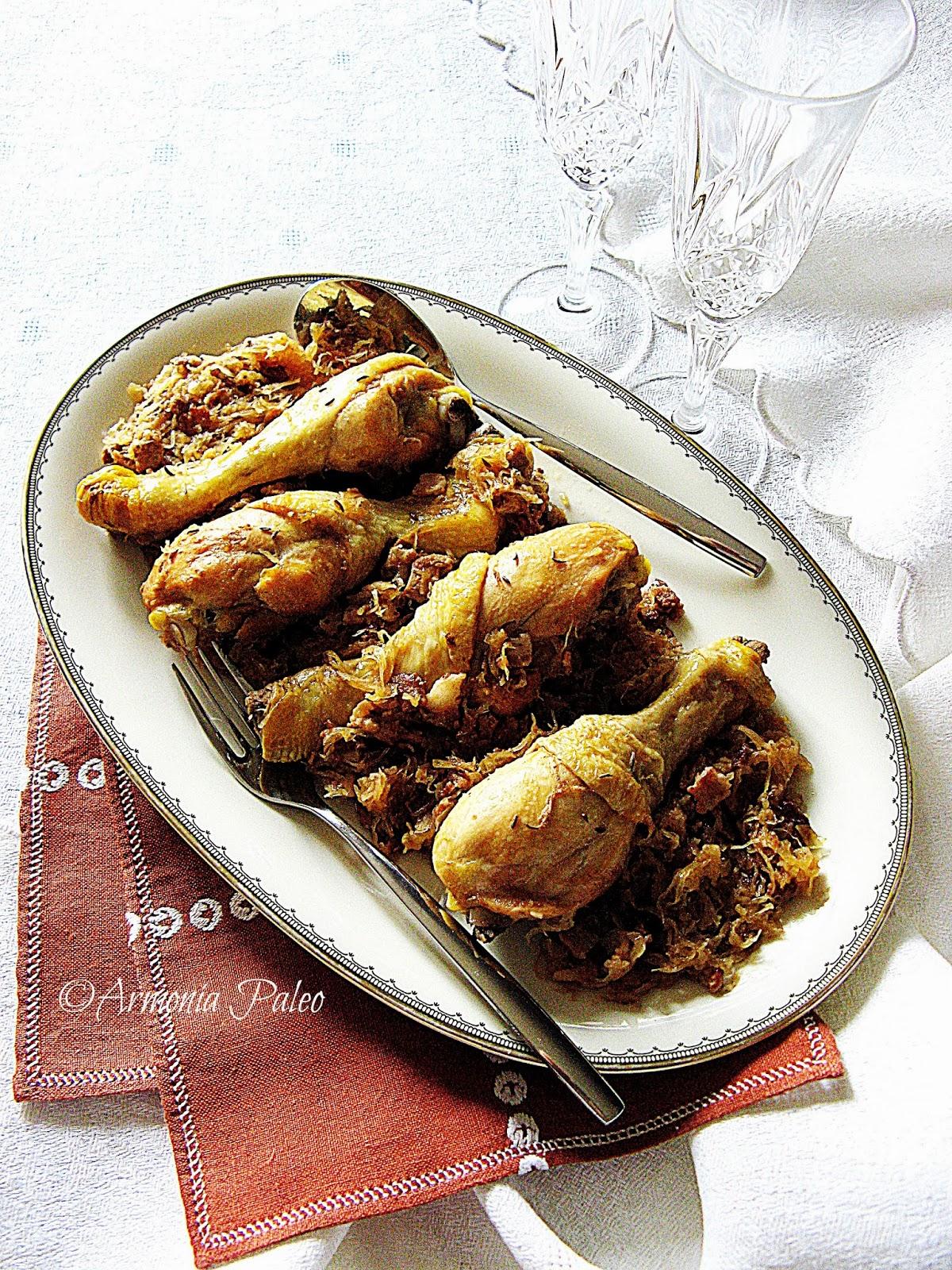 Pollo Vecchia Boemia con Crauti di Armonia Paleo