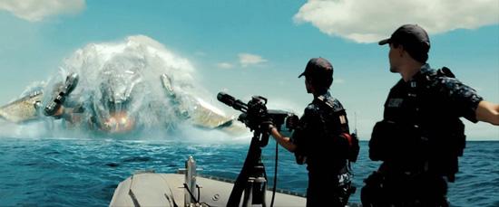 Kapal angkasa dalam Battleship