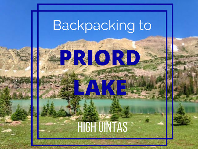 Backpacking to Priord Lake, Uintas