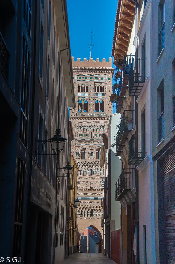 La torre de El Salvador en Teruel. Visitando Teruel.