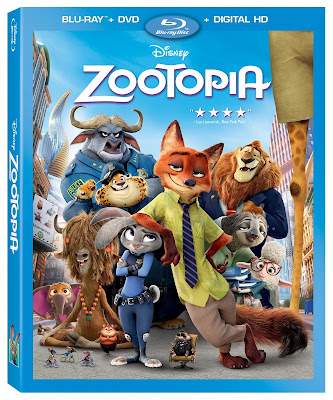 Zootopia Blu ray Combo