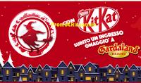 Logo La Befana KitKat ti regala 1 ingresso omaggio a Gardaland e vinci soggiorni al Resort
