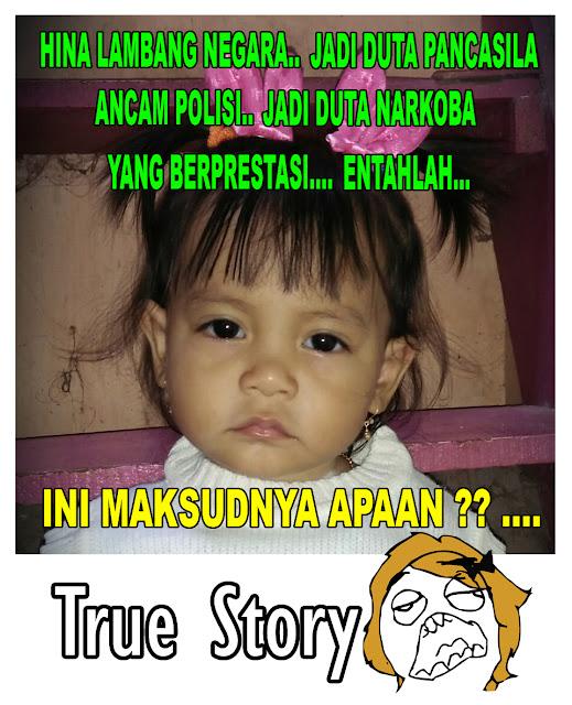 zaskia gotik, sonya depari, duta narkoba, duta pancasila, meme, meme kocak, meme lucu, save indonesia
