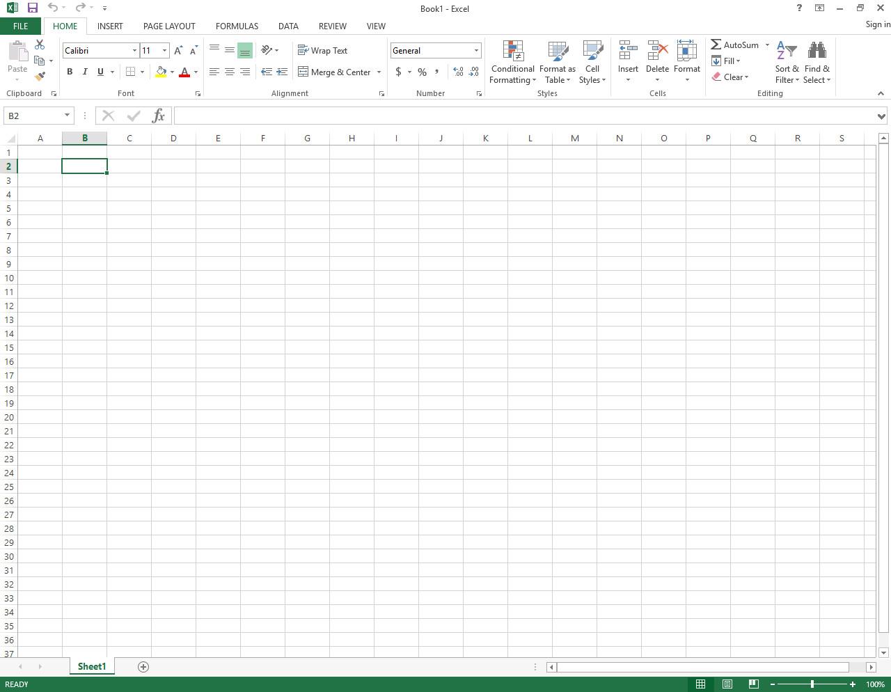 Tampilan Microsoft Office Excel Dan Komponennya